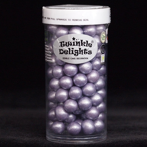 Natural 8mm Purple Nuts Dairy Soy Gluten GMO Free shimmer Pearls