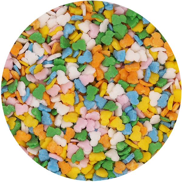 Bulk Pack Confetti Easter Shapes No Nut Cake Decoration