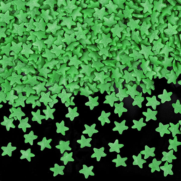 Natural Green Gluten GMO Nuts Dairy Soy Free Confetti Star