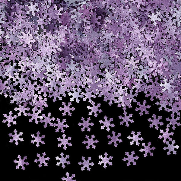 Natural Edible Purple GMO Nuts Gluten Sugar Free Glitter Snowflakes