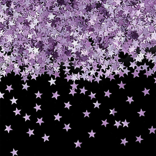 Natural Edible Purple GMO Nuts Gluten Sugar Free  Glitter Stars