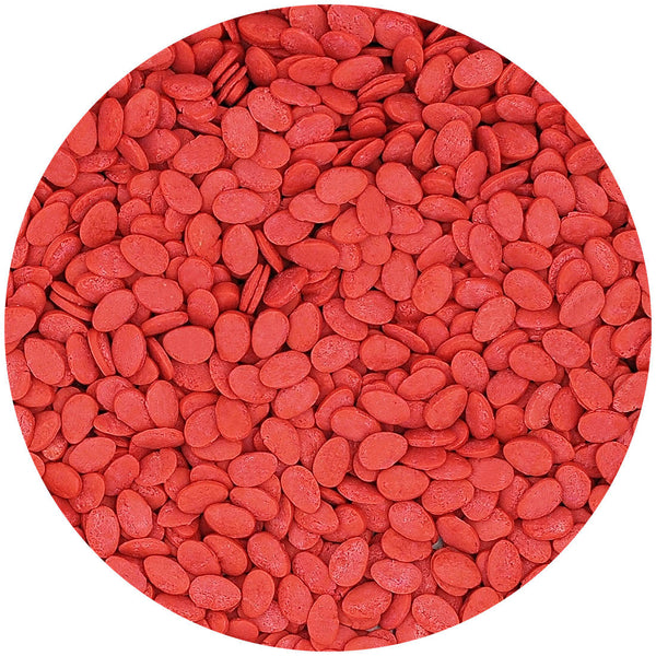 Red Confetti Egg No Gluten No Nut Cake Decoration