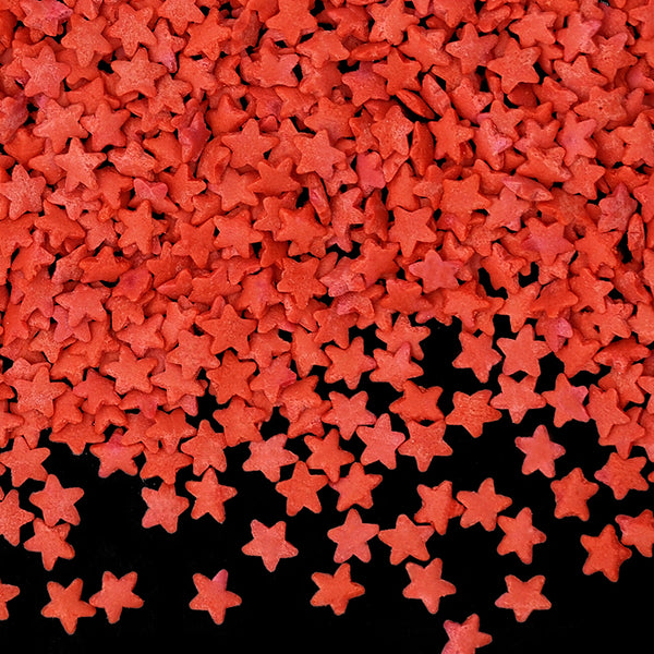Natural Red Gluten GMO Nuts Dairy Soy Free Confetti Star