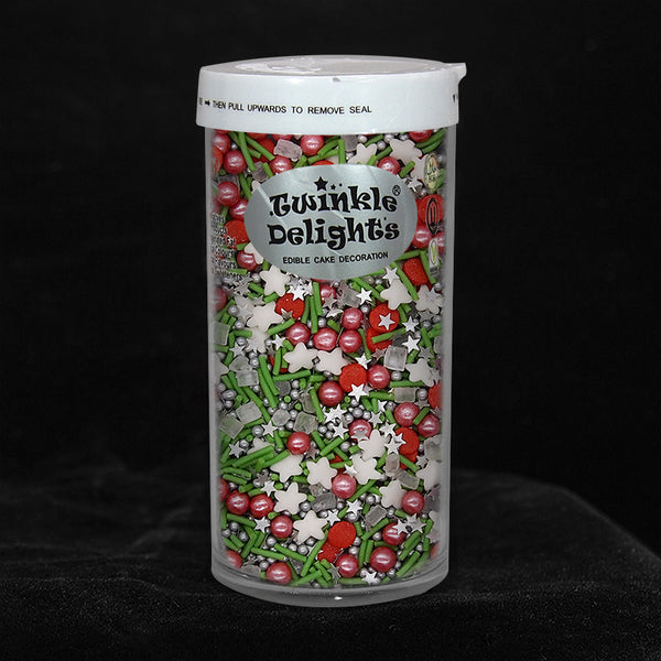 Christmas Berry Sprinkles Blend Gluten Free Nuts Free