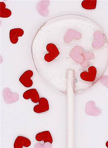 Bulk Pack Confetti Mini Heart Nuts Free Cake Decoration