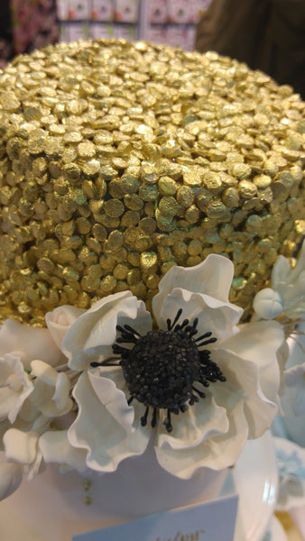 Natural Gold Gluten GMO Nuts Dairy Soy Free Confetti Sequins