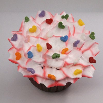 Natural Rainbow Gluten GMO Nuts Dairy Soy Free Confetti Mini Heart