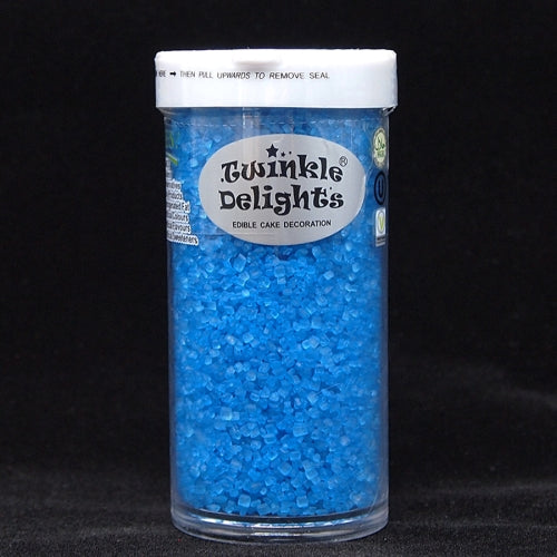 Natural Blue Sugar Crystals Gluten GMO Nuts Dairy Soy Free