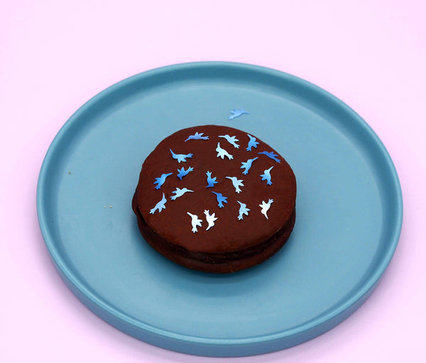 Natural Edible Blue Glitter Hummingbird GMO Nuts Gluten Sugar Free