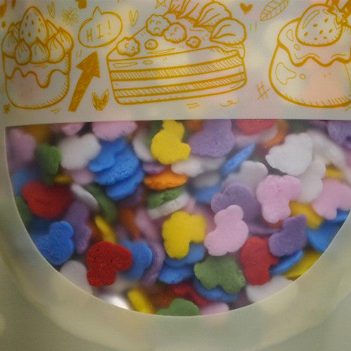 Natural Rainbow Gluten GMO Nuts Dairy Soy Free Confetti Car