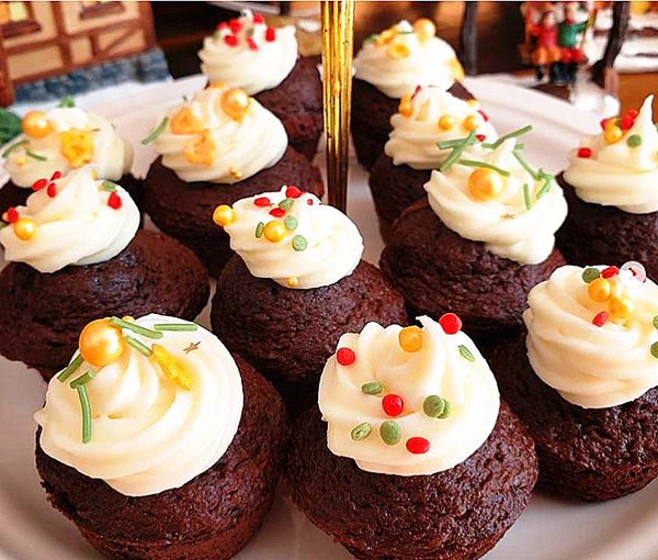 Jingle Bells Sprinkles Mix Gluten GMO Nut Dairy Soy Free Cake Decoration