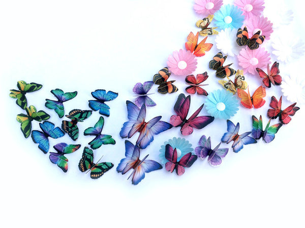 735 DIY Edible Wafer Double Pre Cut Butterfly