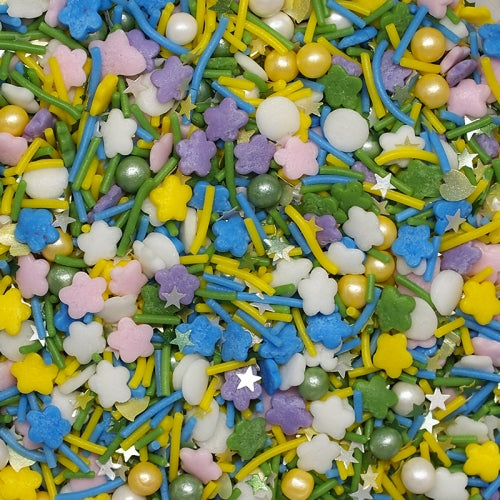 Flower Power edible Natural Sprinkle mix Gluten GMO Nut Dairy Soy Free