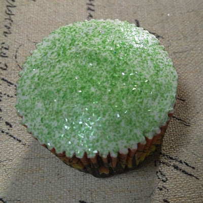 Holly Green Glitter Sparkles No Soy Non Gmos Cake Decoration