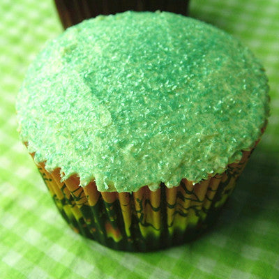 Ocean Blue Glitter Sparkles Dairy Free Edible Decoration