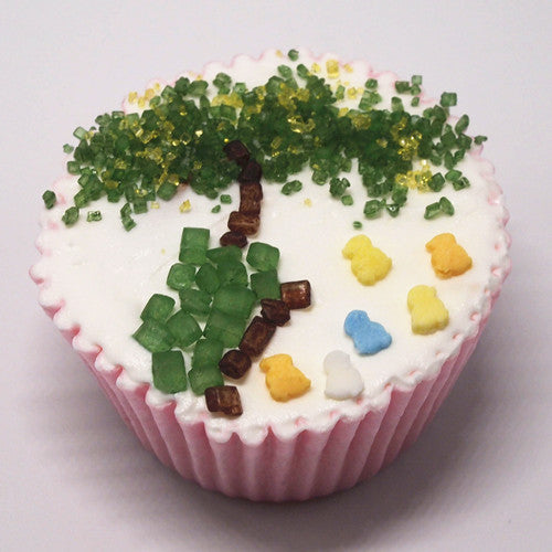 Green Mixture shaker Gluten GMO Nut Soy Free Natural Cake Decoration