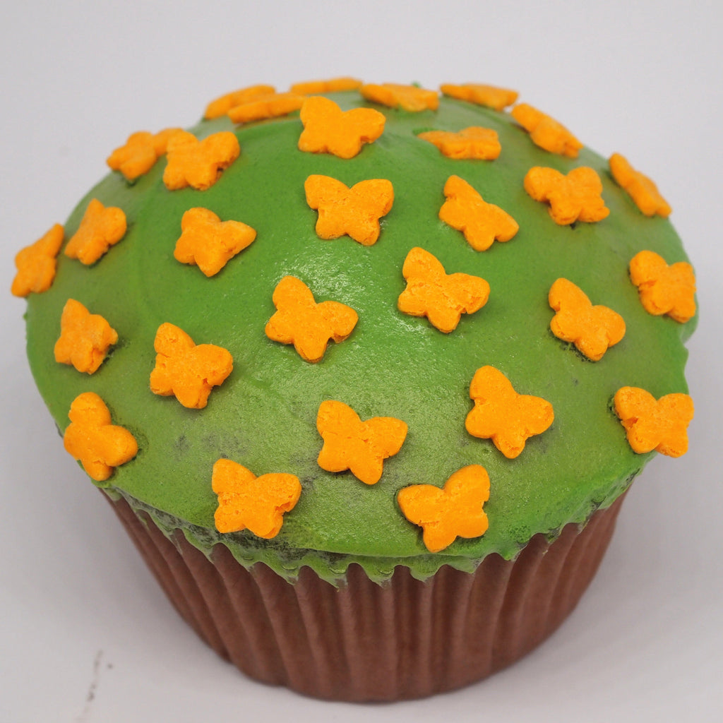 Orange Little Butterfly EDIBLE SHAPE sprinkles ALL Natural