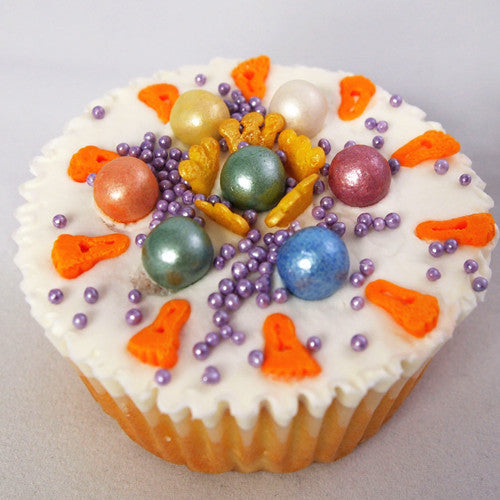 Pearlized Surprise 6 in 1 shaker-Gluten free Natural Cake decoration
