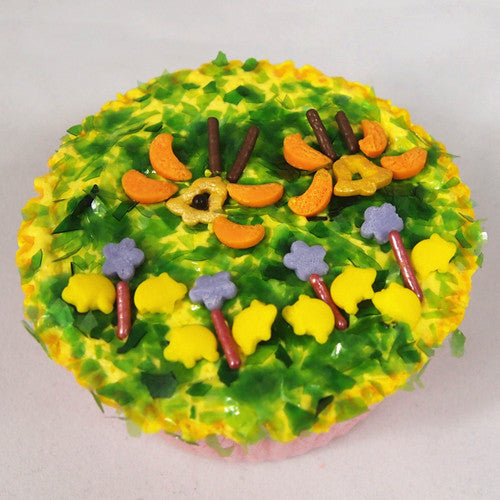 Birthday 4 cell shaker Edible Natural Gluten&Nuts free Cake decoration