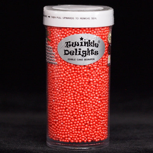 Natural Red Nuts Dairy Soy Gluten GMO Free Shimmer nonpareils