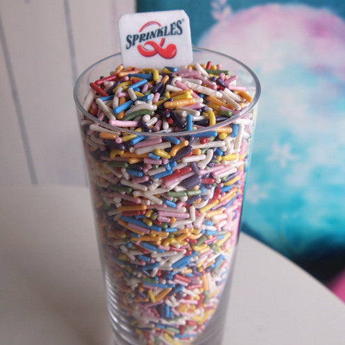 Glitter Sprinkles shaker No Soy Non Gmos Cake Decoration