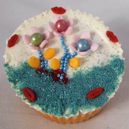 Shimmer Blue Nonpareils GLUTEN,DAIRY,NUTS,GMO&SOY FREE cake decorating