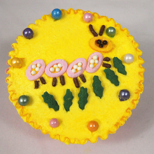 Happy Days 4 cell jar-Nuts GMO soy Gluten & Dairy free Cake decoration