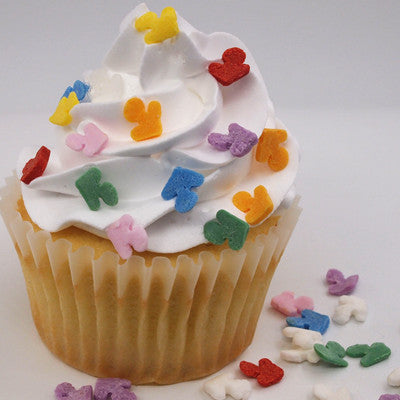 473 Edible Party Confetti Anchor sprinkles for decorating cupcake