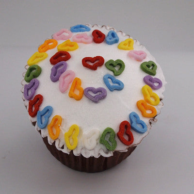Natural Rainbow Gluten GMO Nuts Dairy Soy Free Confetti Angel Heart