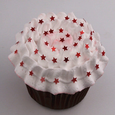 Holiday Glitter Stars Gluten Free Edible Decoration