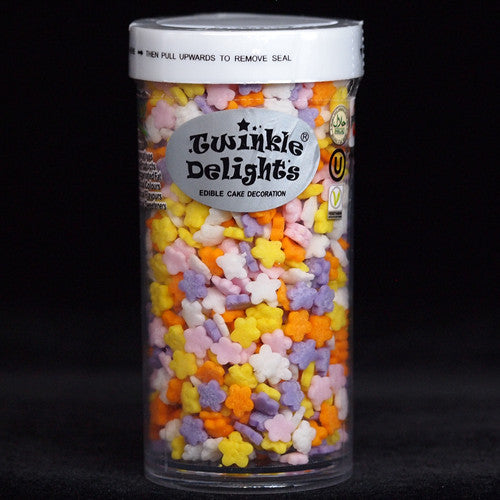 Confetti Daisies EDIBLE SHAPES Nuts Gluten Free all Natural sprinkles