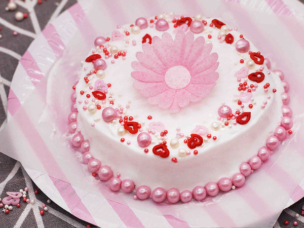 Sweetheart Valentine Gluten GMO Nut Dairy Soy Free Cake Decoration