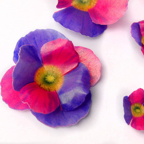 294 DIY 3D Edible Wafer Pre Cut  Flower
