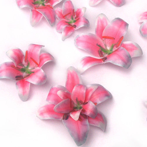 653 DIY 3D Edible Wafer Pre Cut  Flower