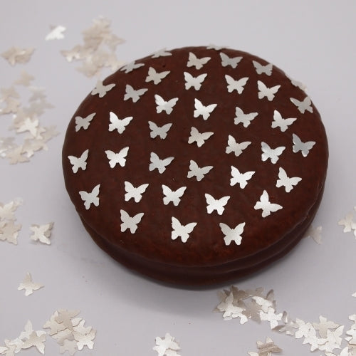 Natural Edible White GMO Nuts Gluten Sugar Free  Glitter Butterfly