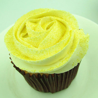 Yellow Glitter Sparkles Kosher Certified Edible Decoration