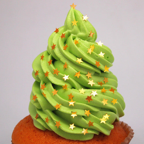 1657 Yellow Edible Glitter Stars Sugar Free All Natural cake decor