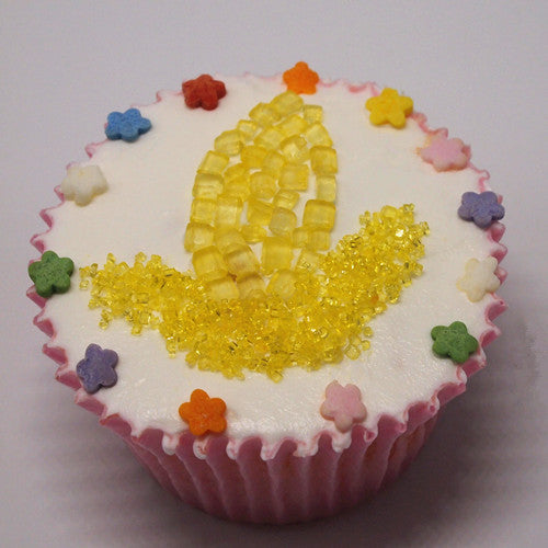 030 Natural Sugar Strands shaker, Confetti, Nonpareils cake decorating