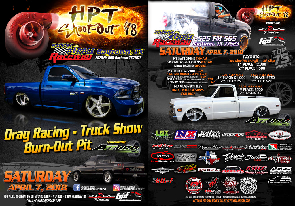 HPT Shoot-Out 2018