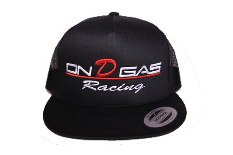 On D Gas Racing trucker hat (mesh)