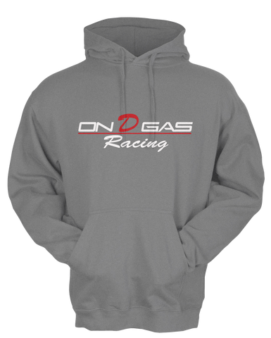 Gray On D Gas Racing Hoodie