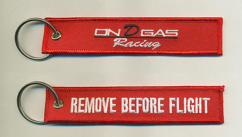 On D Gas Racing keychain