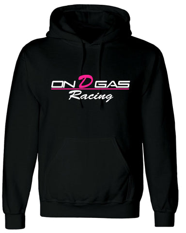 Pink On D Gas Racing Hoodie