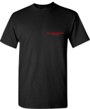 WYBA Racing T-Shirt (Blk/Red) (F/B)