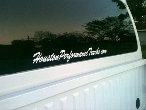 HoustonPerformanceTrucks.com Sticker