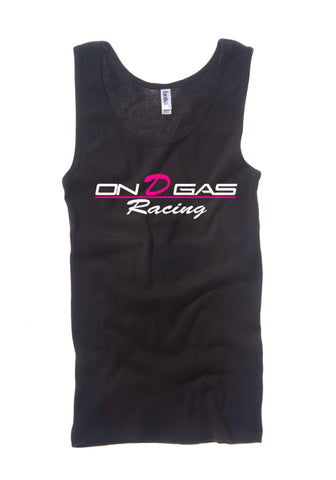 On D Gas Racing female tank top