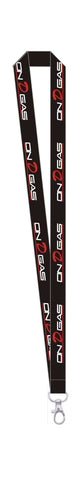 On D Gas Racing lanyard