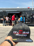 On D Gas Racing camo SnapBack