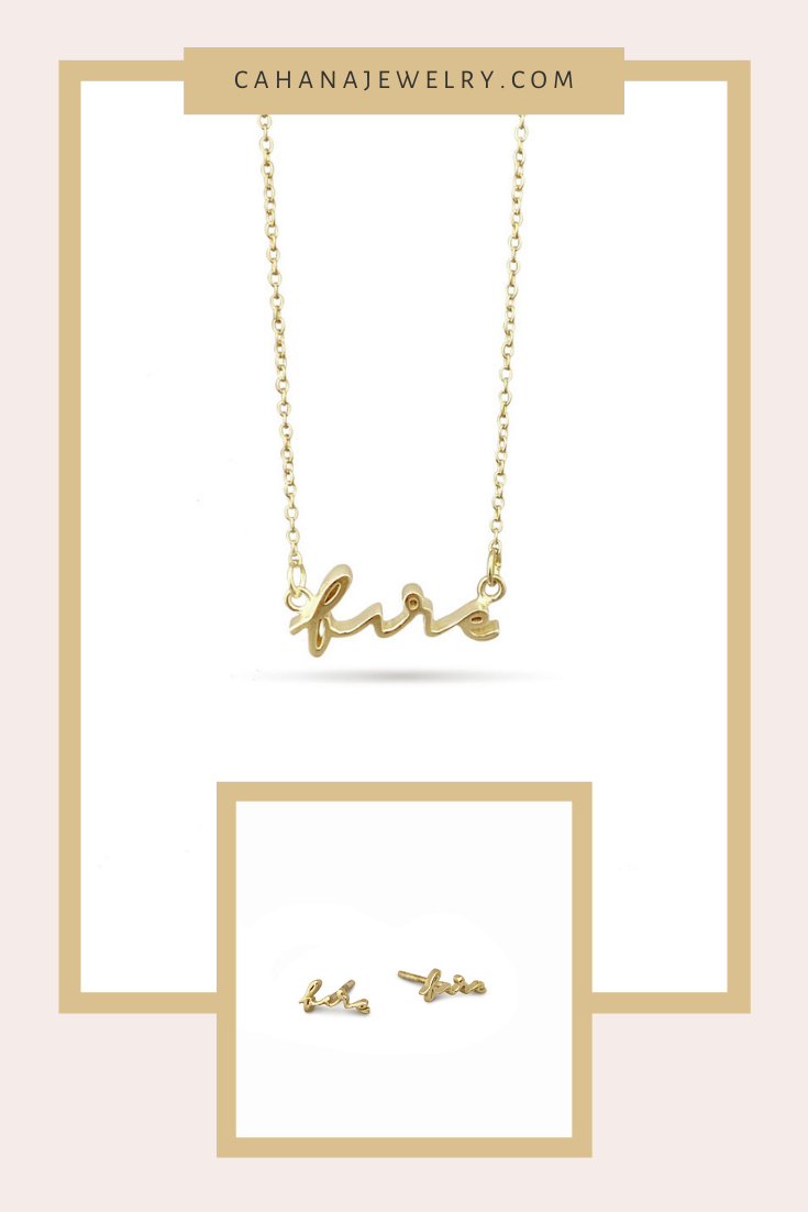 Our Sterling Silver & Gold Plated Elements Collection features adjustable necklaces and small stud earrings. This collection was inspired by the seventies, the fashion and lifestyle. Our element collection makes a wonderful gift for astrology lovers, the elements are connected with our birthday's and star sign. symbolic jewelry simple | symbolic jewelry spiritual gifts | gold layered jewelry | astrology jewelry