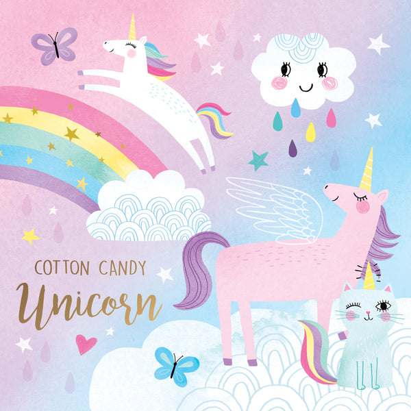 Cotton Candy Unicorn